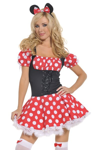 F1277 Minnie Mouse Minidress
